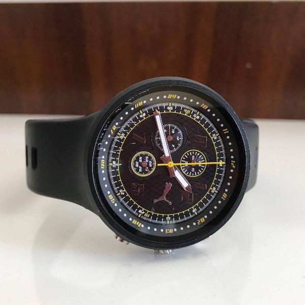 Relógio puma pulseira emborrachada