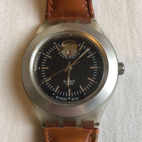 Relógio swatch irony automático