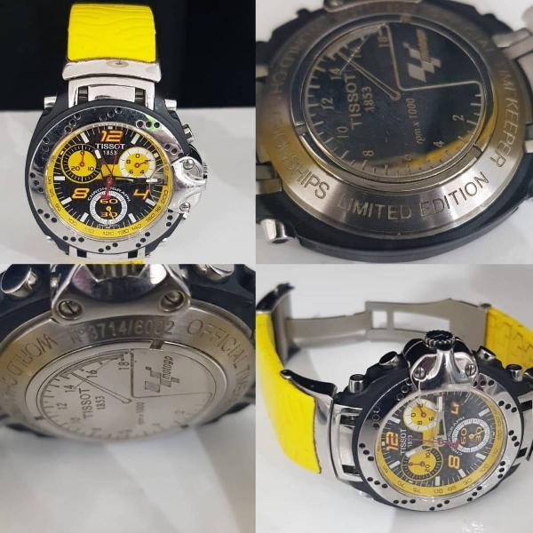 Relógio tissot original edição limitada
