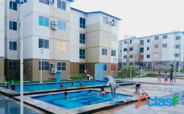 Vendo ou alugo apartamento no segundo andar no condomínio total ville - vida nova - manaus amazonas am