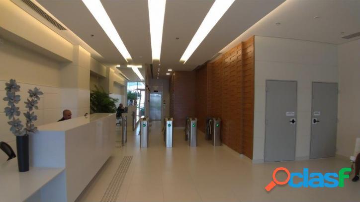 Centro empresarial aquarius - sala comercial de 35m² - 1 vg