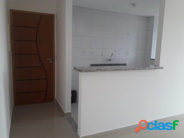 Ed. anápolis - 2 dormitórios, suíte, varanda com churrasqueira e vaga coberta