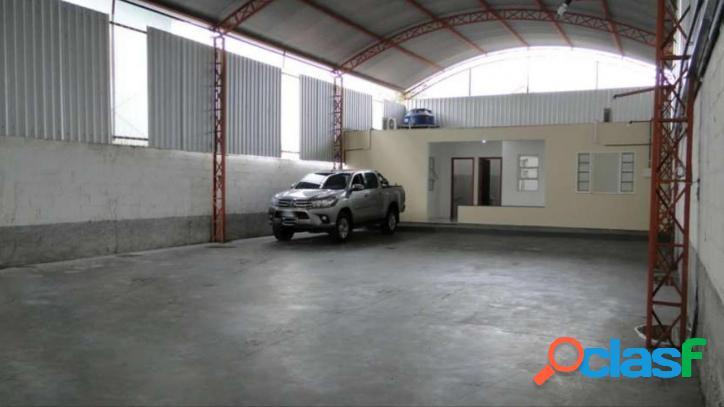 Jd san marino -galpão de 250m², pé direito de 6m, escritório
