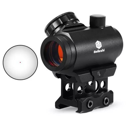 1x22 micro vermelho ponto riflescope laser ponto visão