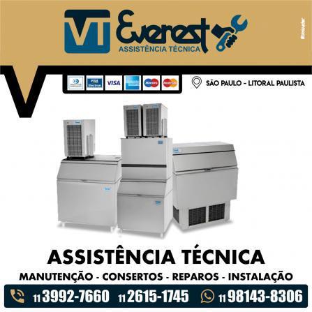 Assistência técnica everest para máquinas de gelo
