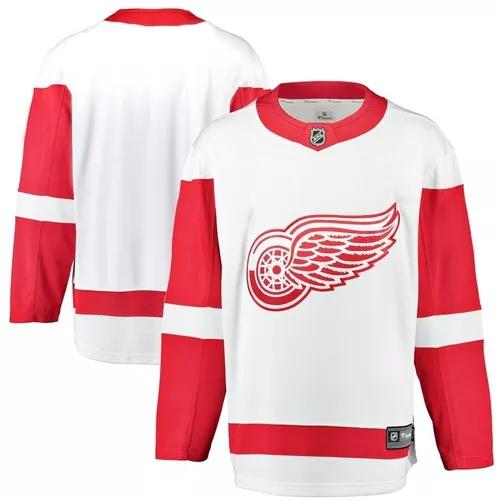Camisa jersey detroit red wings (todos os modelos) - nhl