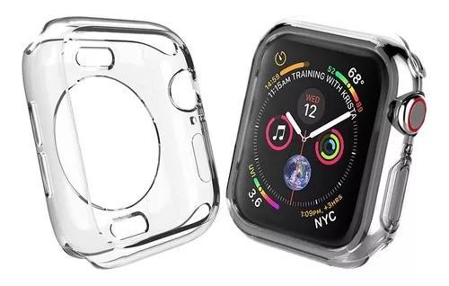 Capa case silicone p/ relógio apple watch (40mm) +