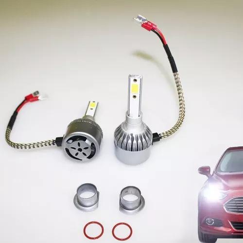 Farol veicular de led xenon lâmpada, carro, automóvel h1