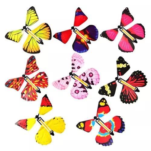 Magia borboleta voador mão transformação engraçado surpr