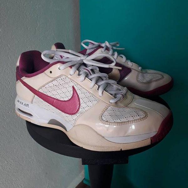 Nike branco e pink