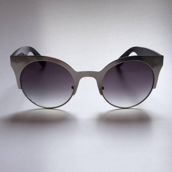 Oculos gatinho prateado