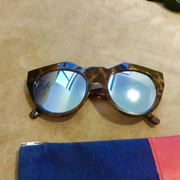 Oculos le specs original espelhado lindo