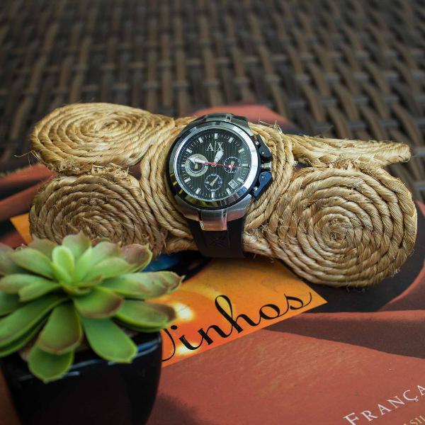 Relógio estiloso armani exchange