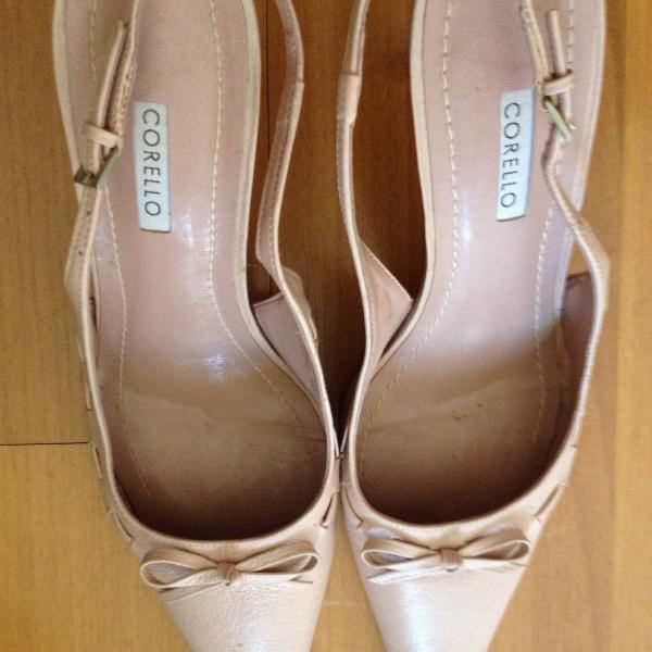 Sapato corello rosa
