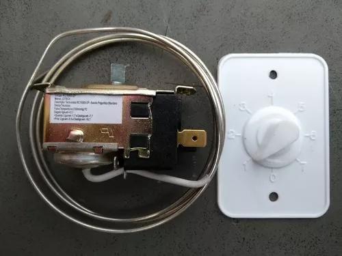Termostato frigorifico balcão expositor rc15000-2p standard