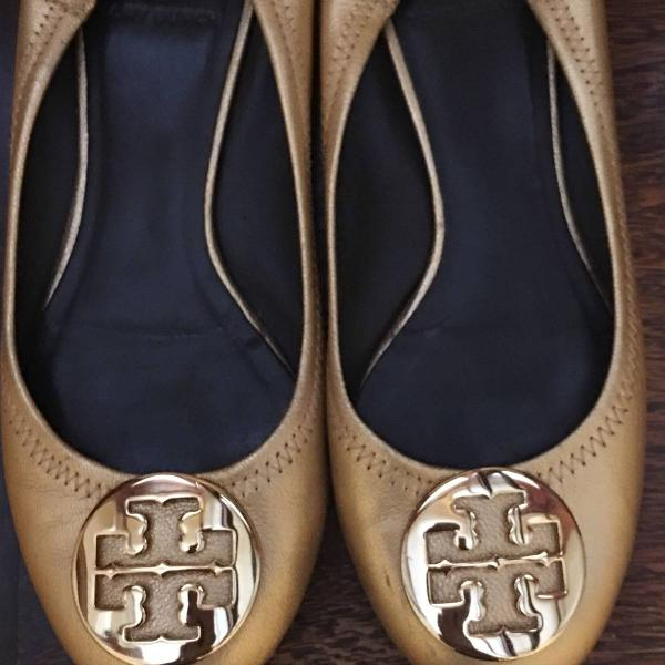 Tory burch - sapatilha sem salto