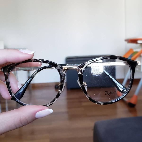 Armaçao óculos de grau turtle