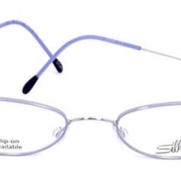 Armação de óculos de grau silhouette