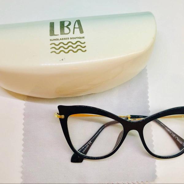 Armação de óculos lba preto