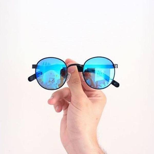 Azul espelhado