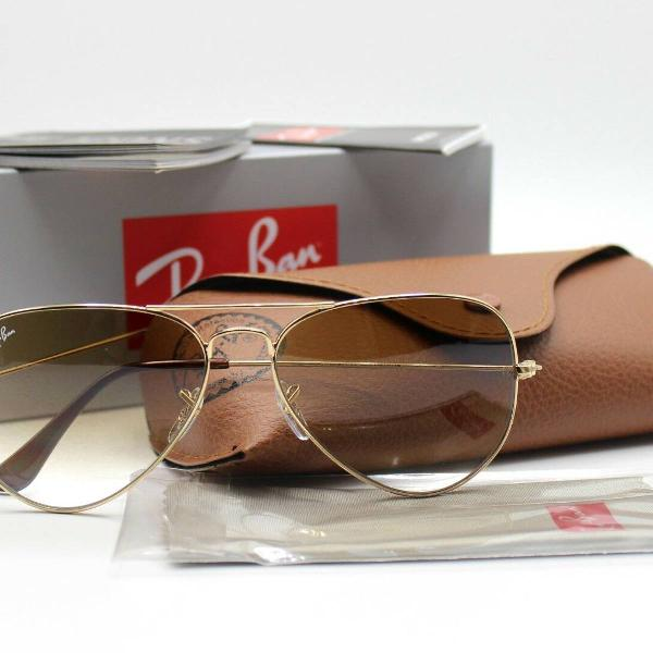 Culos aviador ray ban original rb3025 58mm