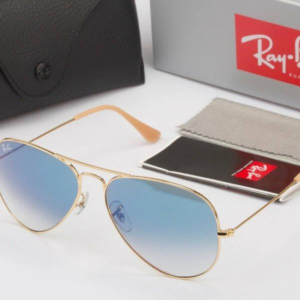 Culos de sol ray ban aviador rb3025 58mm