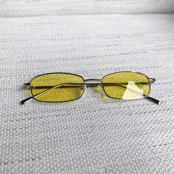 Culos de sol vintage amarelo