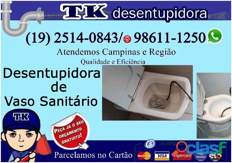 Desentupidora em Botafogo Campinas (19) 2514 0843 Visita Grátis 2
