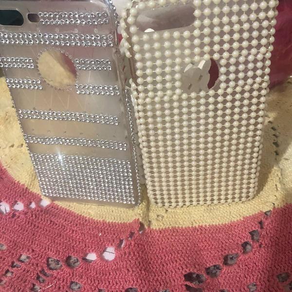 Dupla de case para iphone 8 plus