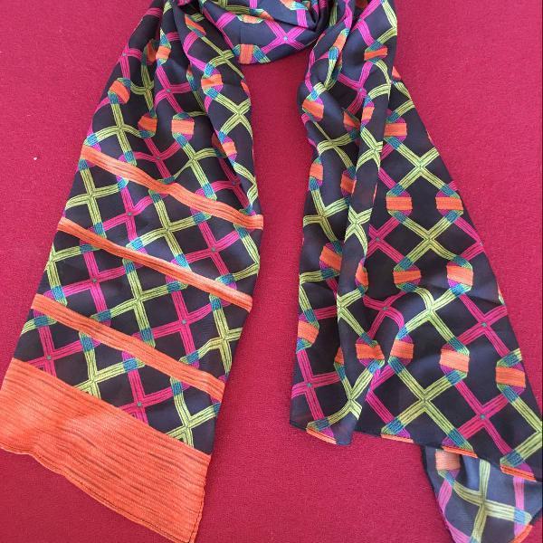 Echarpe de seda scarf.me