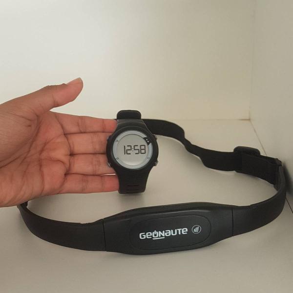 Monitor cardíaco relógio cinta cardio geonaute