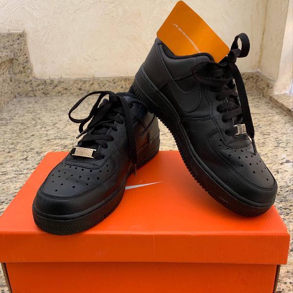 Nike air force 1 preto