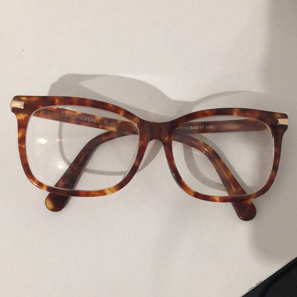 Oculos 1.8.1 eyewear tartaruga