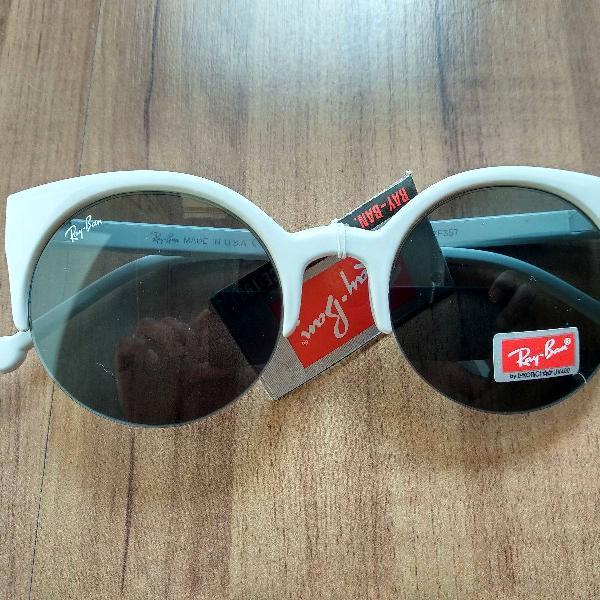Oculos branco gatinho ray ban