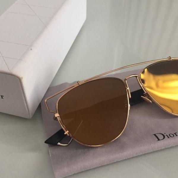 Oculos dourado dior original