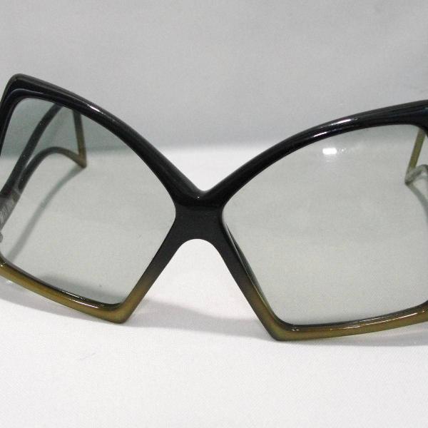Oculos feminino retrô anos 70 vintage miss dior
