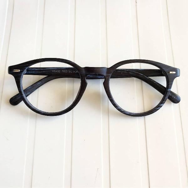 Oculos gatinho azul