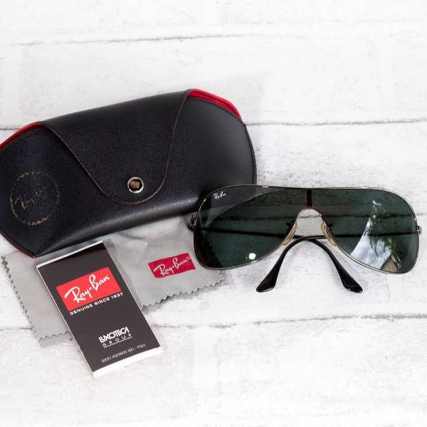 Rayban rb 3211 óculos de sol - original - perfeito