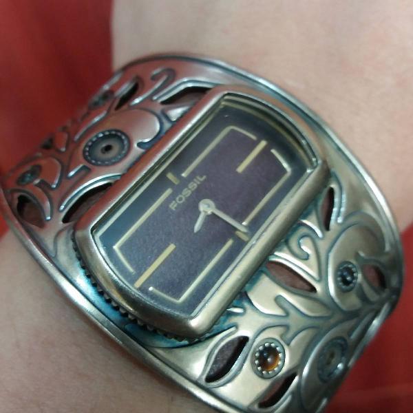 Relógio bracelete fossil