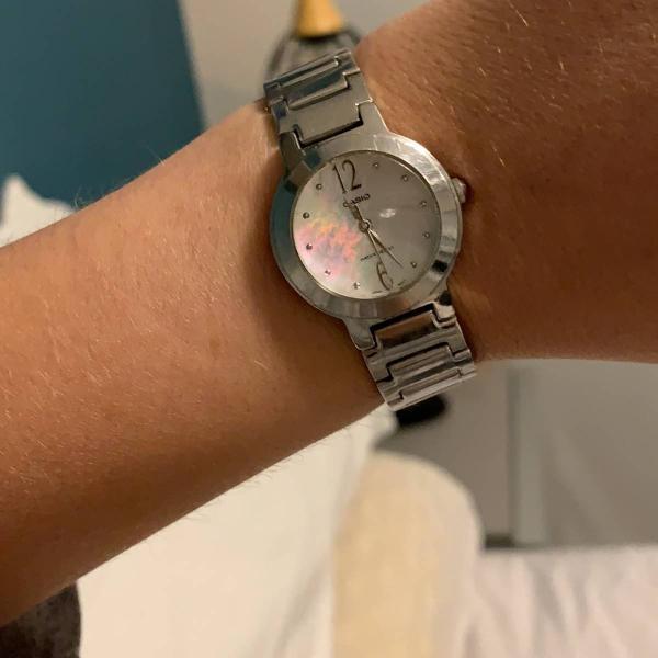 Relógio casio vintage analógico