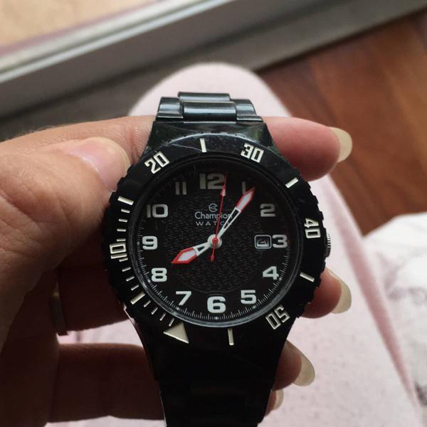 Relógio champion original preto