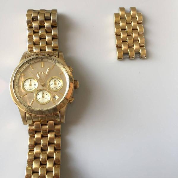 Relógio dkny original dourado modelo ny4688