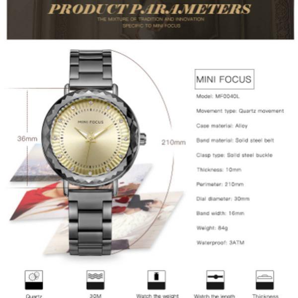 Relógio fantástico feminino importado original