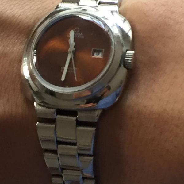 Relógio feminino omega automático de ville dinamic