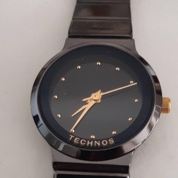 Relógio feminino redondo technos
