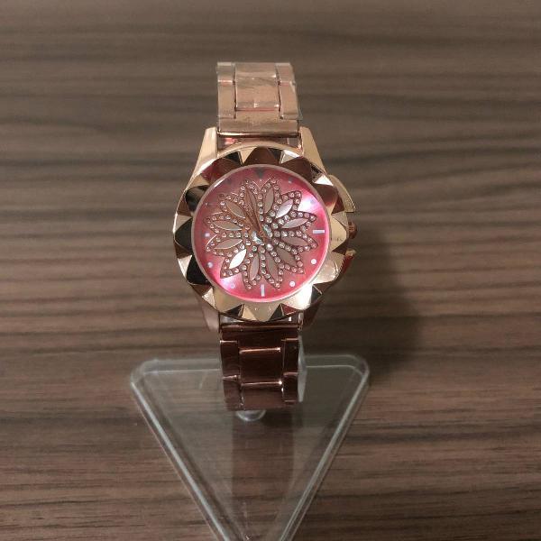 Relógio feminino / rosa