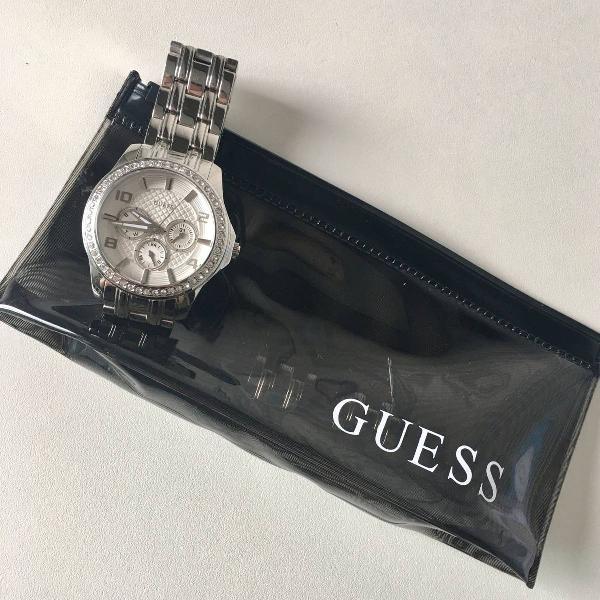Relógio guess strass