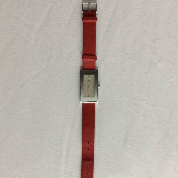 Relógio lacoste vermelho