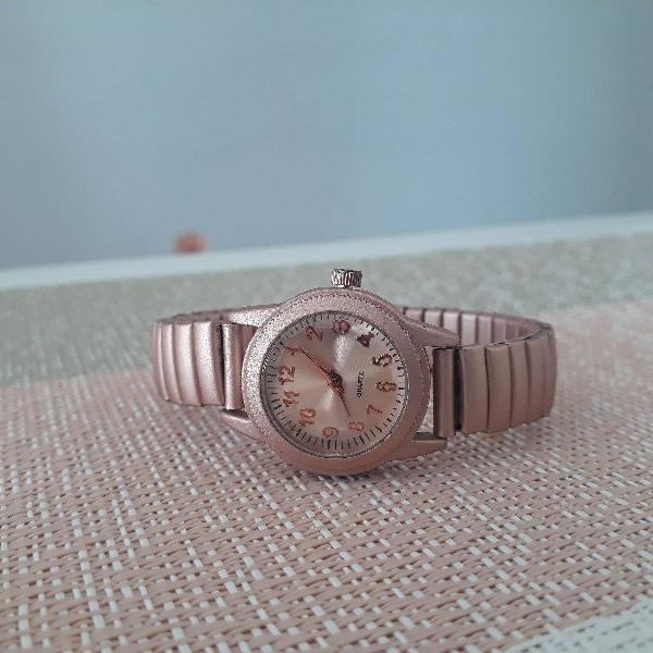 Relógio rose gold