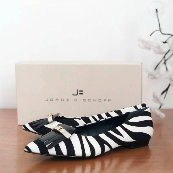 Sapatilha zebra jorge bischoff